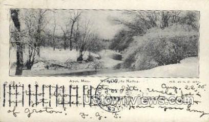 Ayer, Massachusetts, MA Postcard