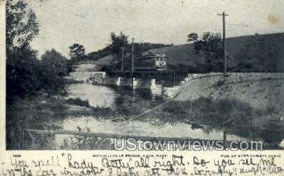 Mitchellville Bridge - Ayer, Massachusetts MA Postcard