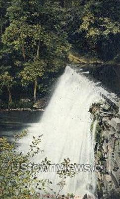 Mill Dam, Woods Village - Ayer, Massachusetts MA Postcard