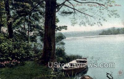Pond, Nuttings Grove - Ayer, Massachusetts MA Postcard
