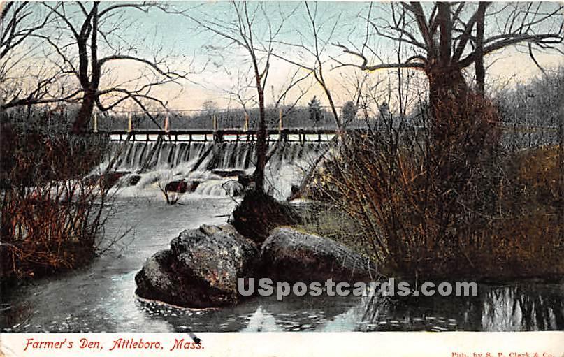 Farmer's Den - Attleboro, Massachusetts MA Postcard