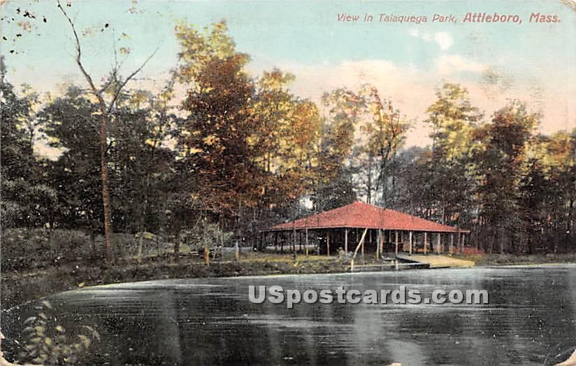 Talaquega Park - Attleboro, Massachusetts MA Postcard