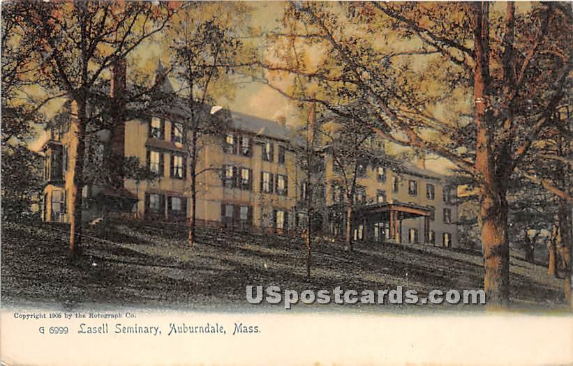 Lasell Seminary - Auburndale, Massachusetts MA Postcard