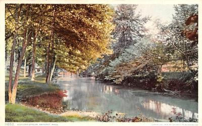 A Sylvan Stream Amherst, Massachusetts Postcard