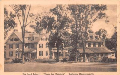 The Lord Jeffery Amherst, Massachusetts Postcard