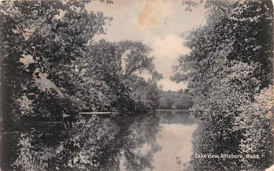 Lake View Attleboro, Massachusetts Postcard