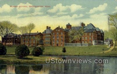 Normal School - Bridgewater, Massachusetts MA Postcard