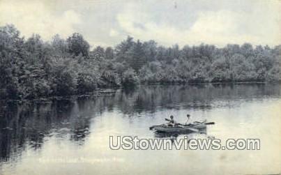 Lake - Bridgewater, Massachusetts MA Postcard