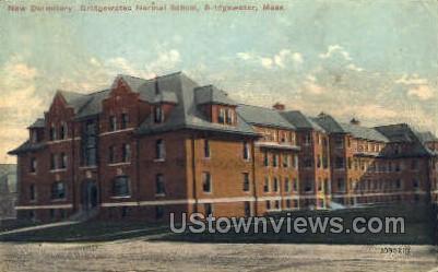 Bridgewater Normal School - Massachusetts MA Postcard