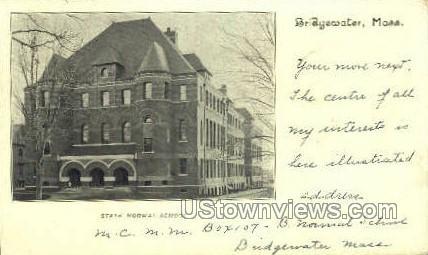 State Normal School Building - Bridgewater, Massachusetts MA Postcard
