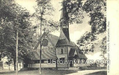 Episcopal Church - Bridgewater, Massachusetts MA Postcard