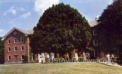 Bridgewater State College - Massachusetts MA Postcard