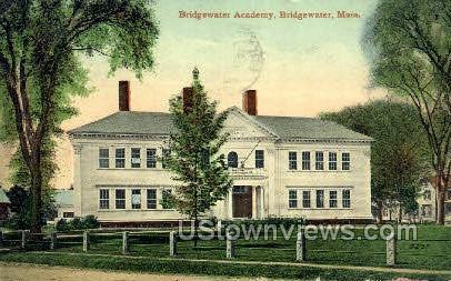 Bridgewater Academy - Massachusetts MA Postcard