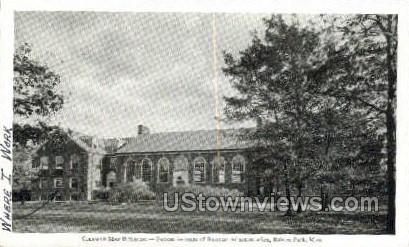 Babson Institute of Business Admin - Babson Park, Massachusetts MA Postcard