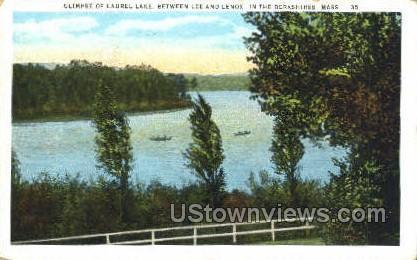 Laurel Lake - Berkshires, Massachusetts MA Postcard