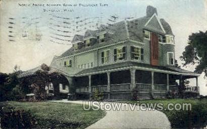 Summer Home of President Taft - Beverly, Massachusetts MA Postcard