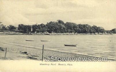 Woodbury Poing - Beverly, Massachusetts MA Postcard