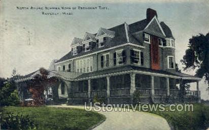 Home of President Taft - Beverly, Massachusetts MA Postcard