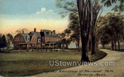 Residence of President Taft - Beverly, Massachusetts MA Postcard