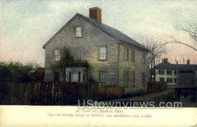 Sunday School - Beverly, Massachusetts MA Postcard
