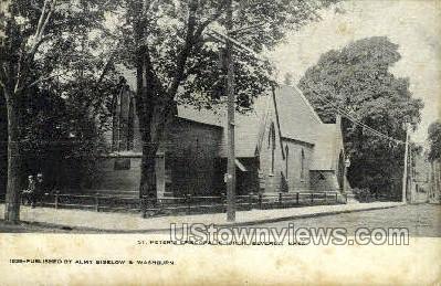 St. Peter's Episcopal Church - Beverly, Massachusetts MA Postcard