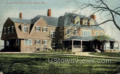 President Taft's Summer Home - Beverly, Massachusetts MA Postcard
