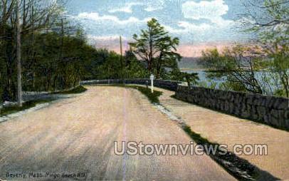 Mingo Beach Hill - Beverly, Massachusetts MA Postcard