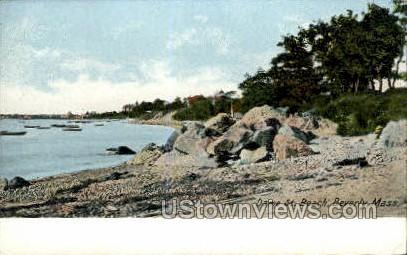 Dame St. Beach - Beverly, Massachusetts MA Postcard