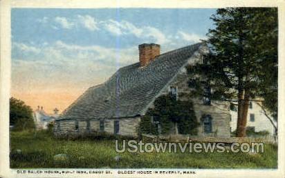 Old Balch House - Beverly, Massachusetts MA Postcard