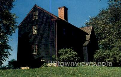 The Balch House - Beverly, Massachusetts MA Postcard