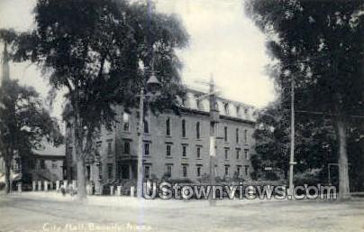 City Hall - Beverly, Massachusetts MA Postcard
