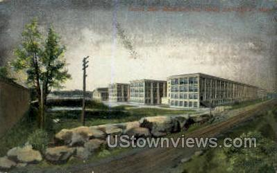 United Shoe Machinery Co. Plant - Beverly, Massachusetts MA Postcard