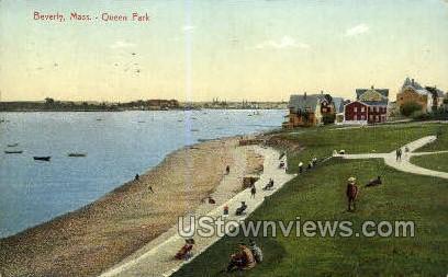 Queen Park - Beverly, Massachusetts MA Postcard