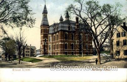 Briscoe School - Beverly, Massachusetts MA Postcard