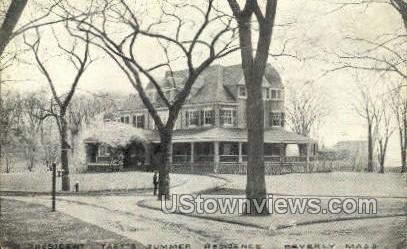 President Taft's Summer Residence - Beverly, Massachusetts MA Postcard