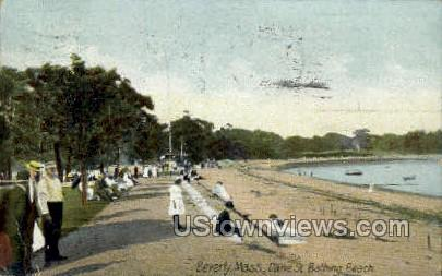 Dane St. Bathing Beach - Beverly, Massachusetts MA Postcard