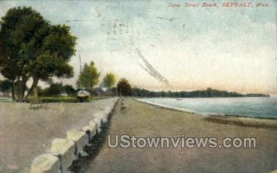 Dane St. Beach - Beverly, Massachusetts MA Postcard