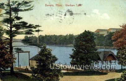 Wenham Lake - Beverly, Massachusetts MA Postcard