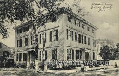 Historical Society Building - Beverly, Massachusetts MA Postcard