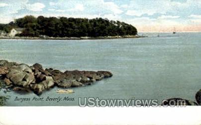 Burgess Point - Beverly, Massachusetts MA Postcard