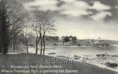 Woodbury's Point - Beverly, Massachusetts MA Postcard