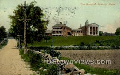 The Hospital - Beverly, Massachusetts MA Postcard
