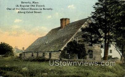Old House - Beverly, Massachusetts MA Postcard