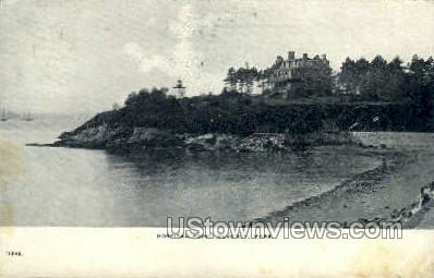 Hospital Point - Beverly, Massachusetts MA Postcard