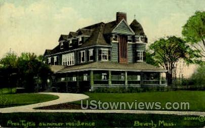 Hale St. - Beverly, Massachusetts MA Postcard