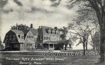 President Summer Resident - Beverly, Massachusetts MA Postcard