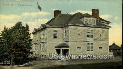 Front St. - Beverly, Massachusetts MA Postcard