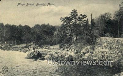 Mingo Beach - Beverly, Massachusetts MA Postcard