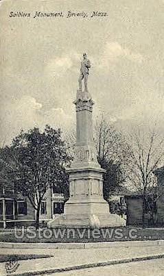 Baptist Church - Beverly, Massachusetts MA Postcard