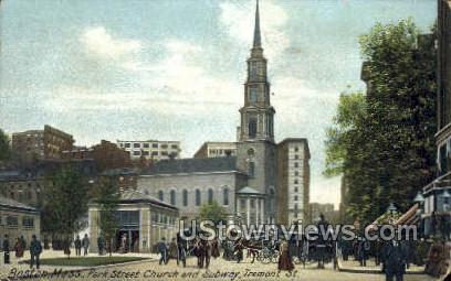 Park St. Church  - Boston, Massachusetts MA Postcard